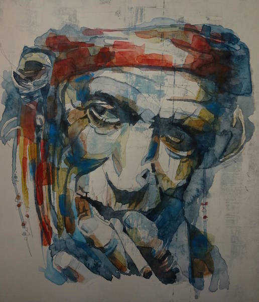 Wall Art - Painting - Keith Richards Art by Paul Lovering