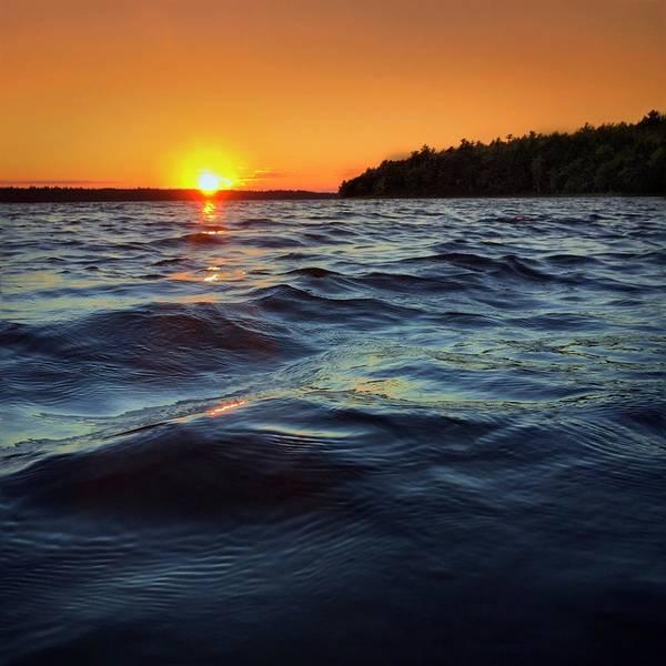 Lake Sunset Photograph - Keji Sunset by Christine Sharp