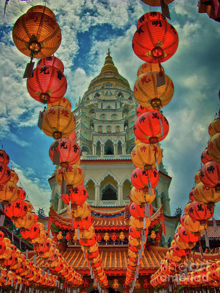 Photograph - Kek Lok Si Buddhist Temple In Penang, Malaysia by Sam Antonio Photography
