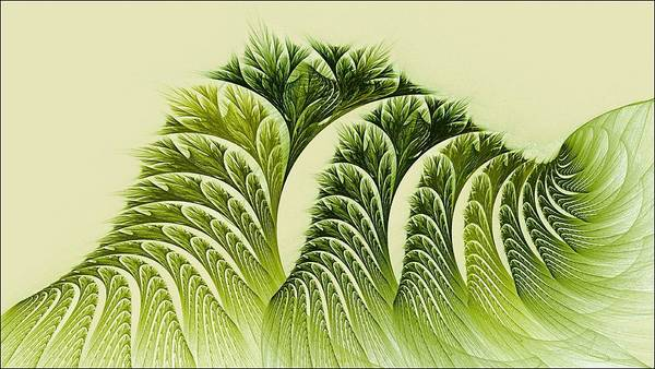 Kelp Towers Of The Fractal Sea Art Print