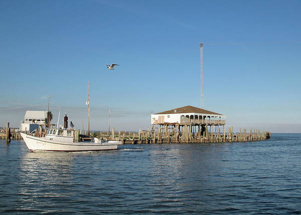 Photograph - Kemah After Ike by Connie Fox