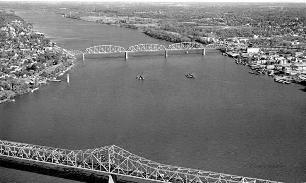 Photograph - Kennedy Bridge Construction by Erich Grant