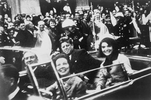 Procession Photograph - Kennedy Dallas Motorcade by Victor Hugo King