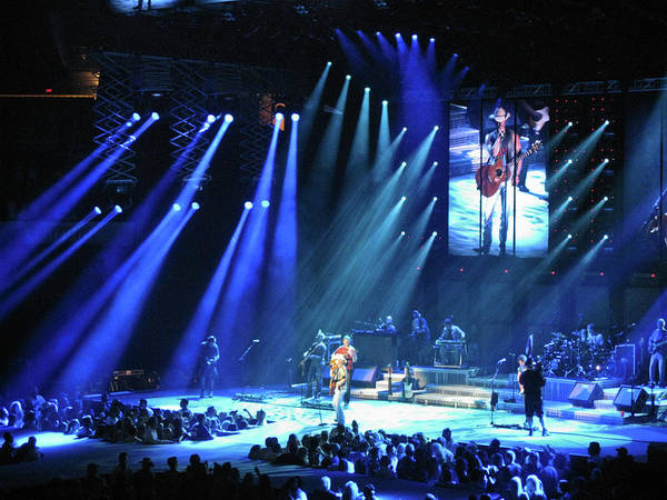 Billy Currington Photograph - Kenny Chesney Again by James Gordon Patterson