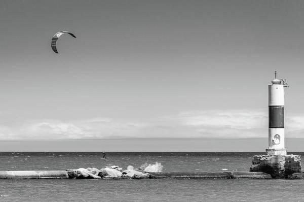 Photograph - Kenosha's Summer Challenge by Steven Santamour