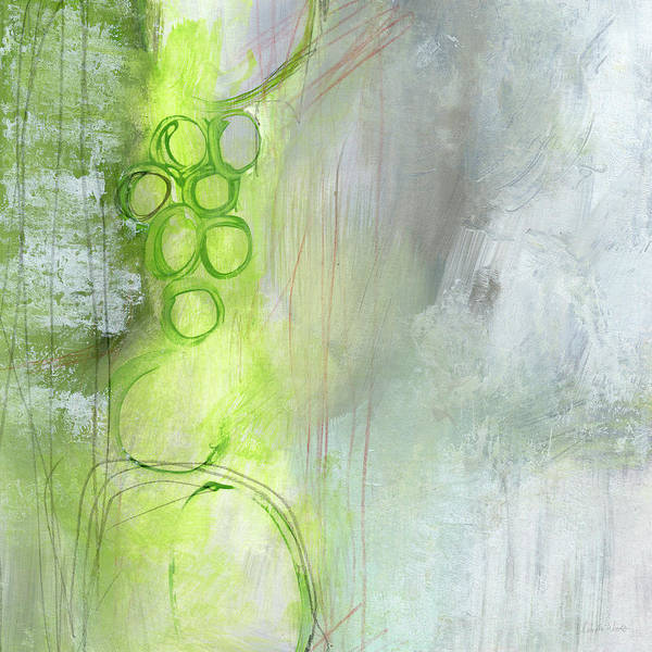 Loft Painting - Kensho- Abstract Art By Linda Woods by Linda Woods