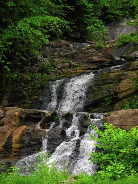Photograph - Kent Falls 2 by Raymond Salani III