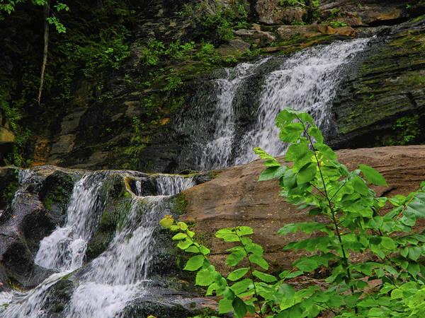 Photograph - Kent Falls 3 by Raymond Salani III