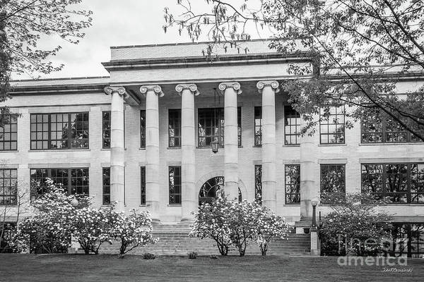 Photograph - Kent State University Kent Hall by University Icons