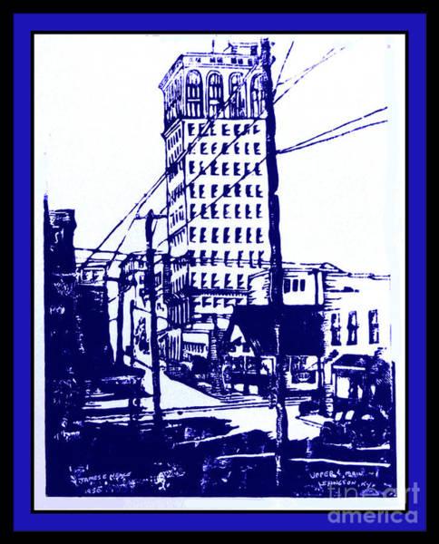 Drawing - Kentucky Blue by David Neace