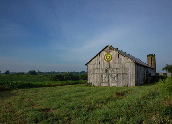 Wall Art - Photograph - Kentucky Bluegrass Country Barn Quilt by Bridget Calip