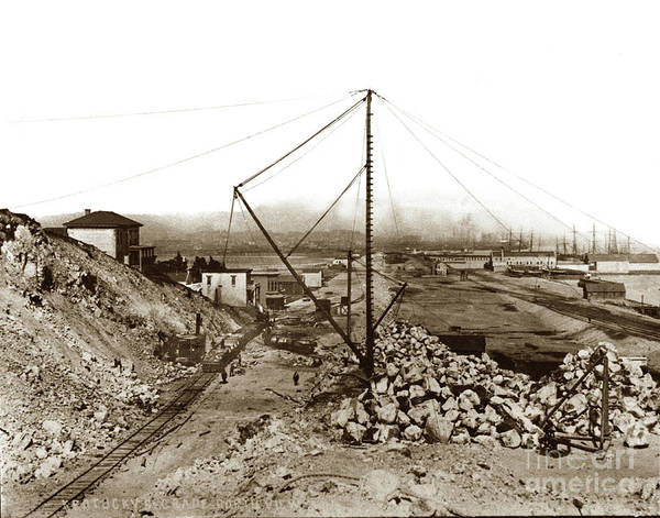 Photograph - Kentucky Street Grand Port View Now 3rd Street Grading Work, C by California Views Archives Mr Pat Hathaway Archives