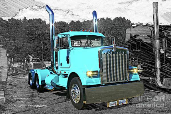 Wall Art - Photograph - Kenworth Daycab by Randy Harris