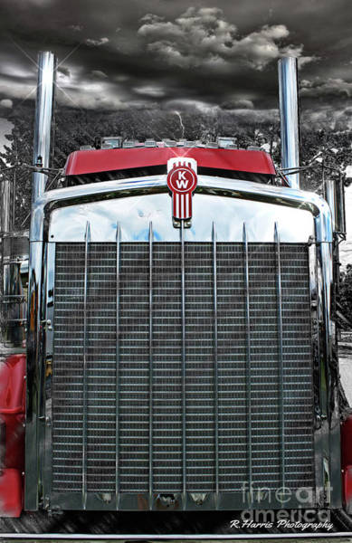 Wall Art - Photograph - Kenworth Grill by Randy Harris