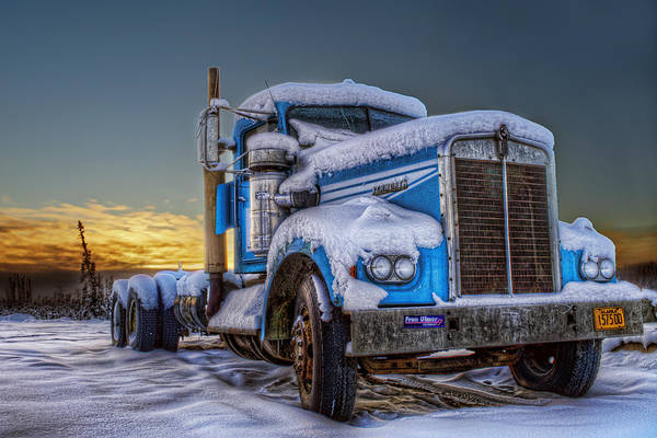 Kenworth Photograph - Kenworth Waiting For Summer by Thomas Payer