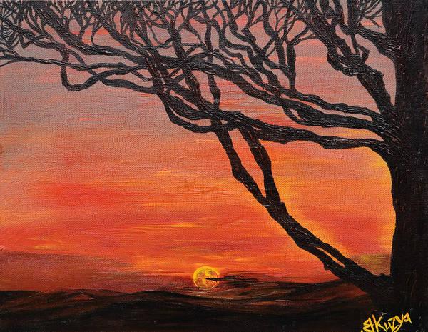 Desolation Painting - Kenya Shades by Kuzya B