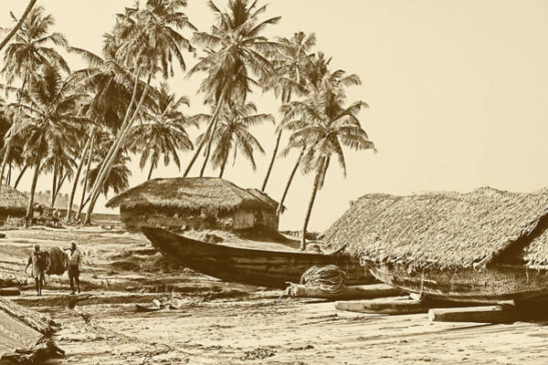 Photograph - Kerala Fishing Village by Paul Cowan