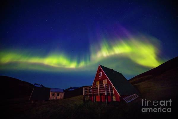 Highland Light Photograph - Kerlingarfjoell Aurora by Inge Johnsson