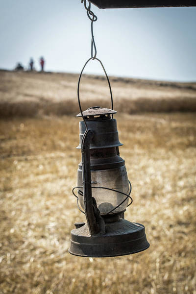 Wall Art - Photograph -  Kerosene Lantern by Paul Freidlund