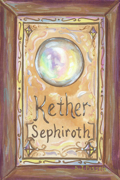 Painting - Kether by Sheri Jo Posselt