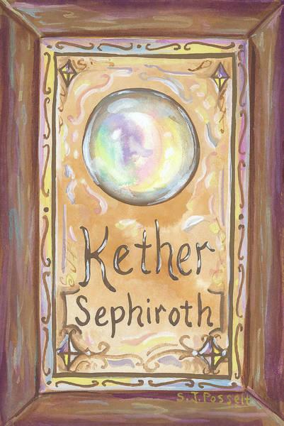 Kether Art Print