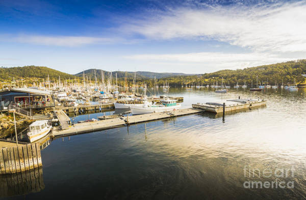 Wall Art - Photograph - Kettering Boat Harbour by Jorgo Photography - Wall Art Gallery