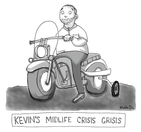 Wheel Photograph - Kevins Midlife Crisis Crisis by Maddie Dai