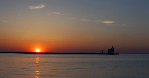 Photograph - Kewaunee Daybreak by CA  Johnson