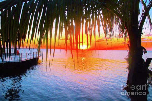 Wall Art - Photograph - Key Largo Sunset by Jerome Stumphauzer