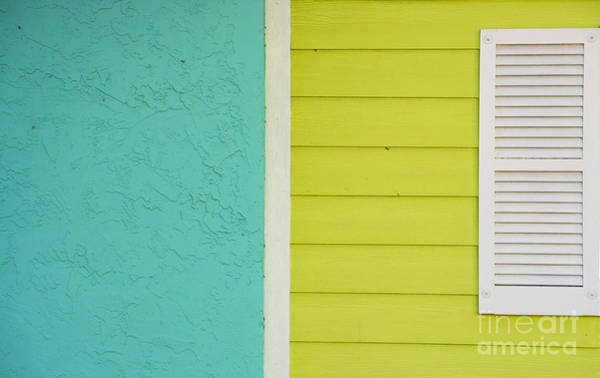Wall Art - Photograph - Key Lime Blue Abstract by Juli Scalzi