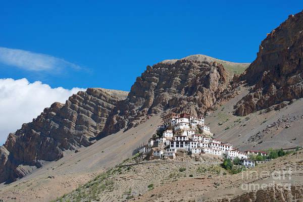 Photograph - Key Monastery by Yew Kwang