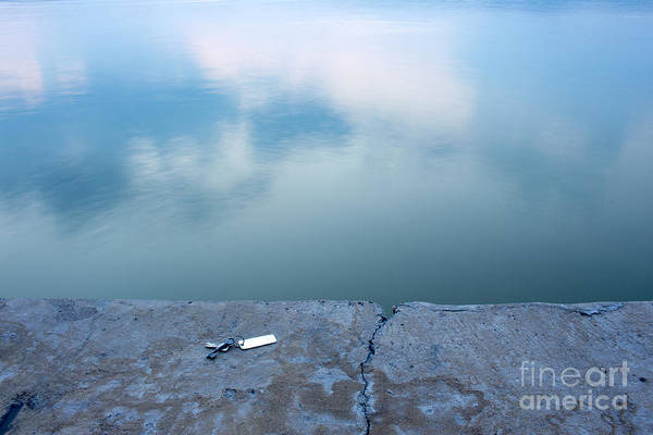 Photograph - Key On The Lake Shore by Odon Czintos