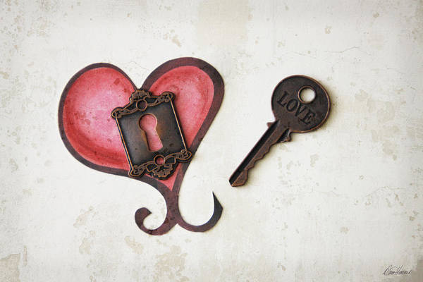 Photograph - Key To My Heart by Diana Haronis