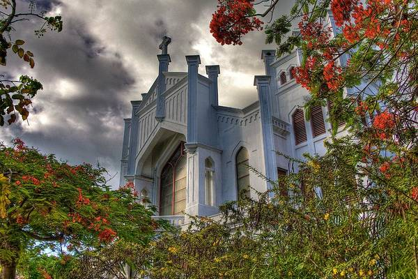 Wall Art - Photograph - Key West Church by William Wetmore