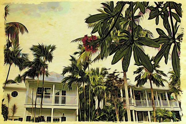 Photograph - Key West Classic Homes by Alice Gipson