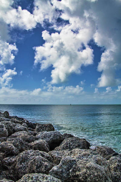 Photograph - Key West Clouds On The Rocks by Bob Slitzan