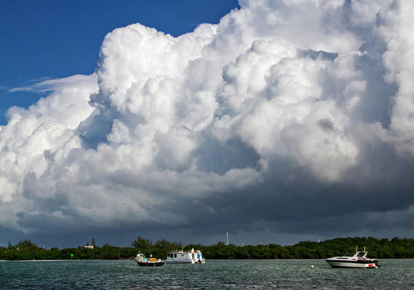 Photograph - Key West Clouds Rolling In by Bob Slitzan