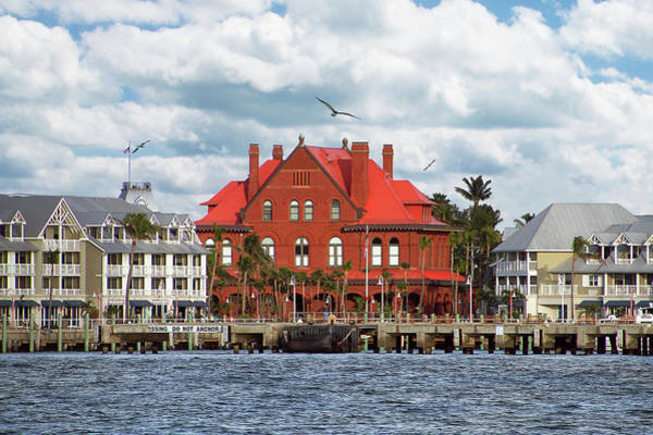 Photograph - Key West Custom House by Bob Slitzan