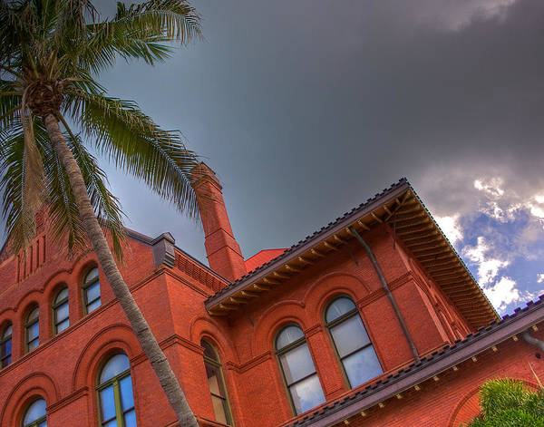Wall Art - Photograph - Key West Customs House by William Wetmore