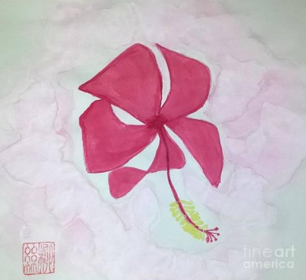 Key West Hibiscus Art Print