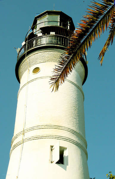Photograph - Key West Light House by Susan Vineyard
