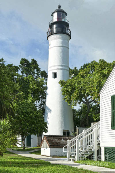 Wall Art - Photograph - Key West Lighthouse by Catherine Sherman