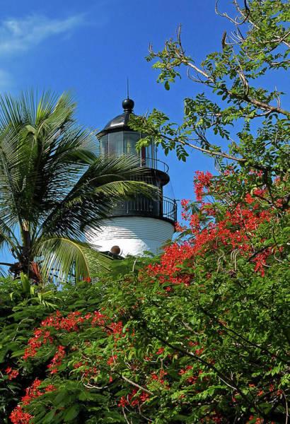 Photograph - Key West Lighthouse by Frank Mari