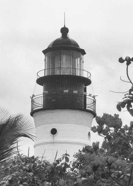 Wall Art - Photograph - Key West Lighthouse by Francis Flatley