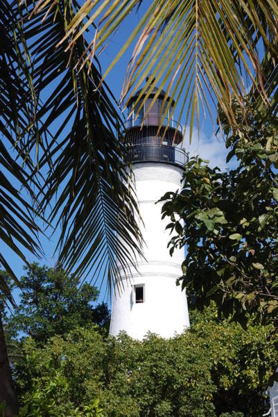 Photograph - Key West Lighthouse by Susanne Van Hulst