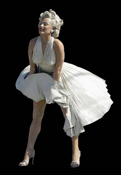 Photograph - Key West Marilyn - Special Edition by Bob Slitzan