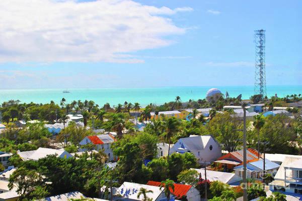 Photograph - Key West Skyline by Jost Houk