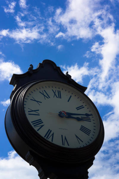 Photograph - Key West Street Clock by Ed Gleichman