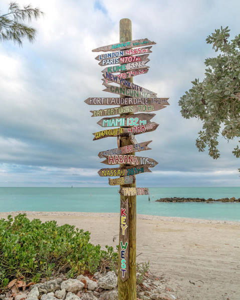 Key West Photograph - Key West Where Do We Go From Here by Betsy Knapp