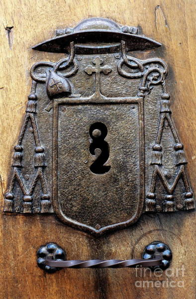 Wall Art - Photograph - Keyhole On A Wooden Door by Sami Sarkis